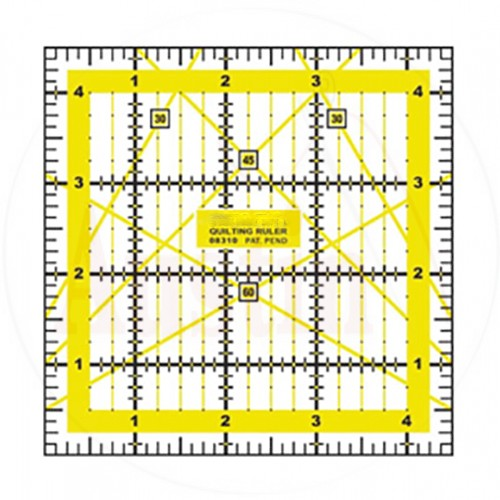 Quilting Patchwork Ruler 4.5 inch x 4.5 inch