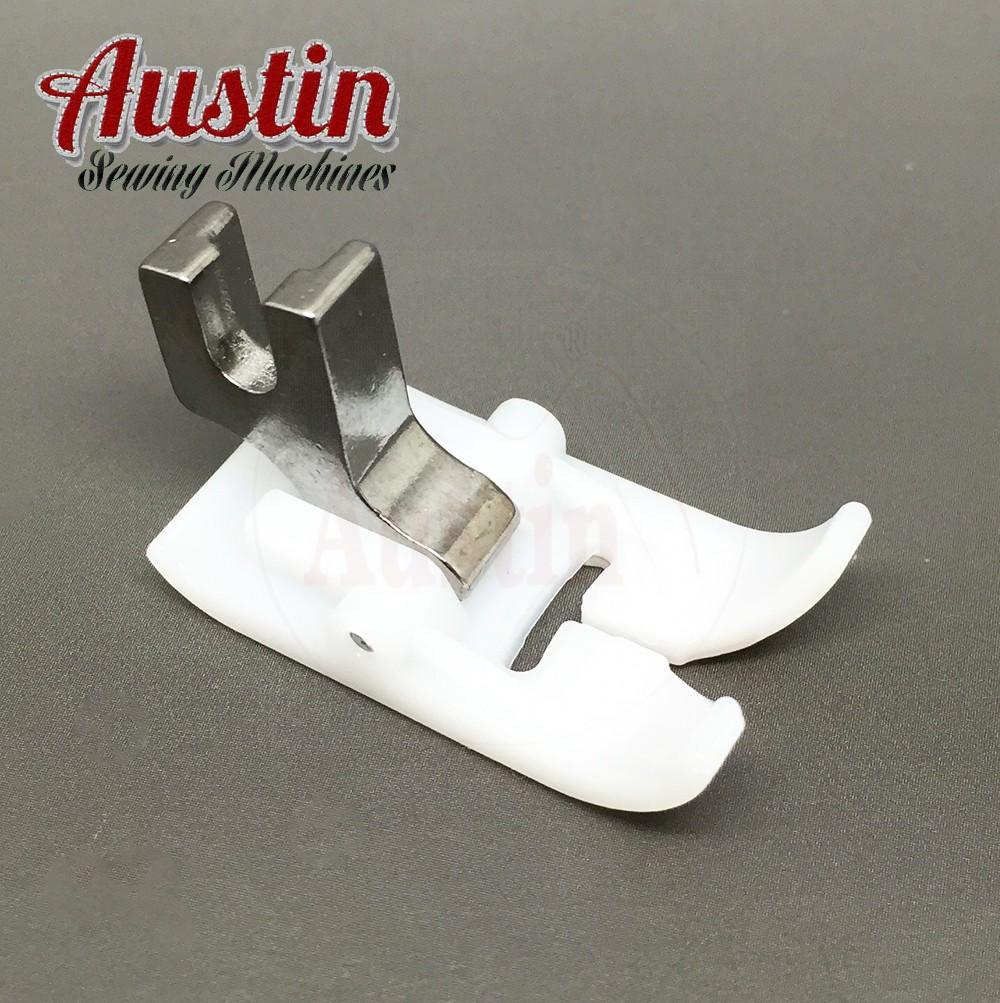 Teflon Non Stick Ultra Glide Foot Zig Zag Low Shank