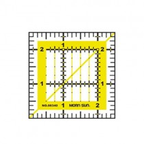 Quilting Patchwork Ruler 2.5 inch x 2.5 inch