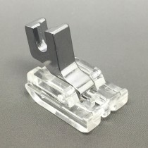 Invisible Concealed Zipper Foot Clear Low Shank Screw On FITS, BROTHER, JANOME, SINGER + MORE