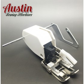 Sewing Machine Screw-on Even Feed Walking Foot with Quilt Guide for Brother Singer Janome Toyota and More