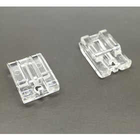 INVISIBLE, CONCEALED ZIP FOOT SNAP ON foot WILL FIT, BROTHER, JANOME, TOYOTA, NEW SINGER DOMESTIC SEWING MACHINES