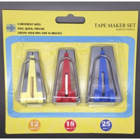 Bias Tape Makers Kit 3 Piece