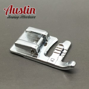 3 HOLE, CORDING FOOT SNAP ON LOW SHANK, COMPATIBLE FOR BROTHER, JANOME, TOYOTA, NEW SINGER DOMESTIC SEWING MACHINES