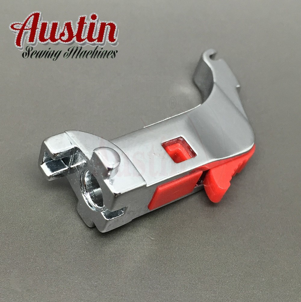 Bernina Compatible Adaptor Presser Foot SNAP-ON SHANK Holder For Bernina New Style Adaptor
