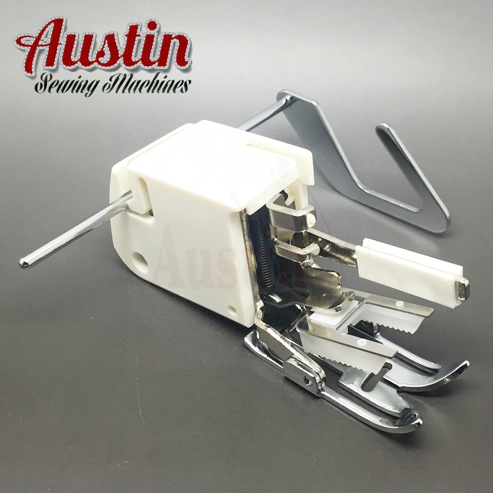 High Shank Walking foot Even Feed with guide which will fit Janome, Singer and many more