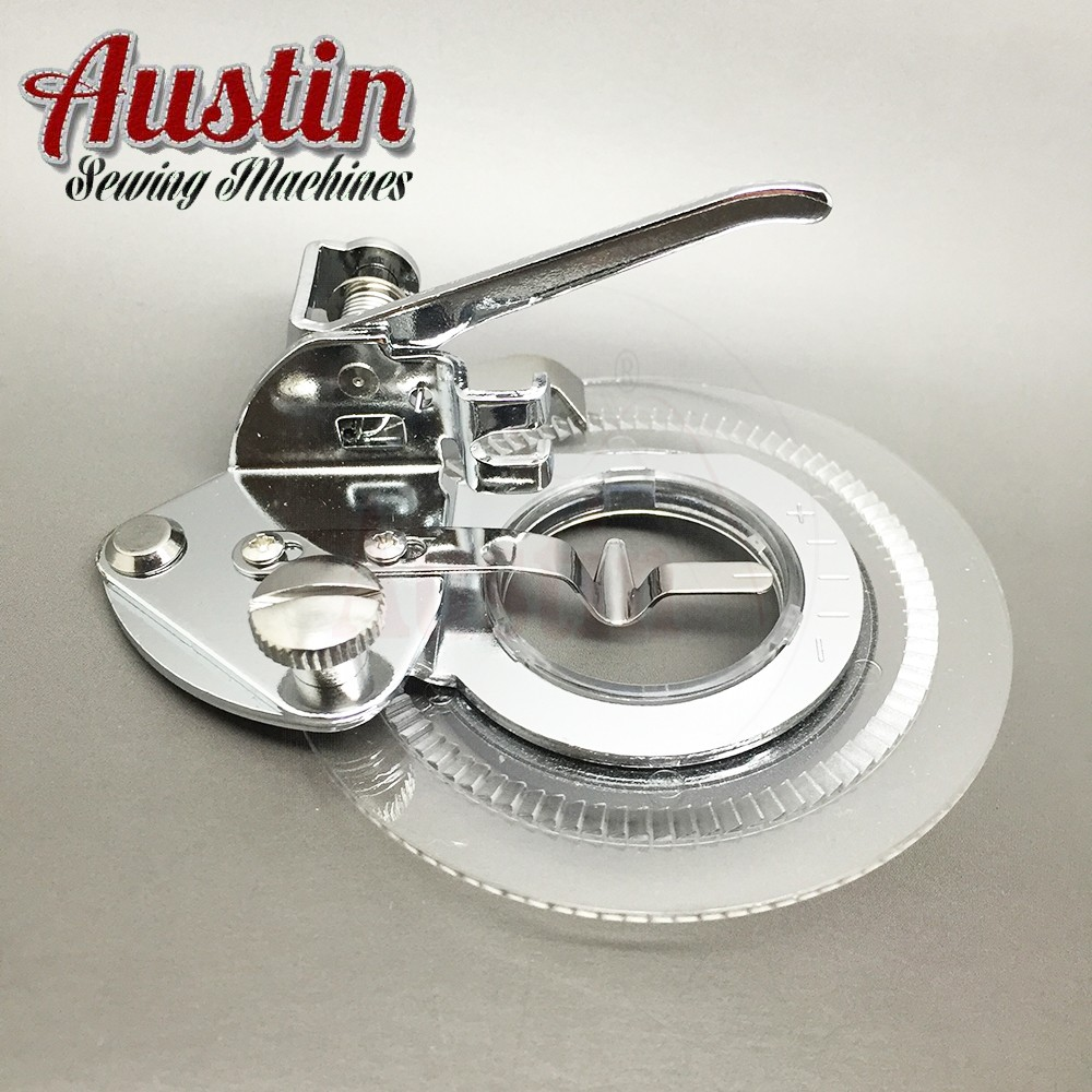 Universal Decorative Daisy Flower Stitch Sewing Machine Presser Foot-Fits All Low Shank Snap-On Sewing Machines