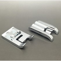 1/4 inch 6mm Double Welting Piping Foot Snap On Fits Brother Singer Toyota and most low shank sewing machines