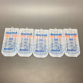5 Packs Universal Domestic Sewing Machine Needles Pack 100/16 (4 x 100/16 and 1 x 2mm Twin Needle)