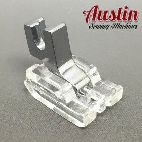 INVISIBLE, CONCEALED ZIP FOOT SCREW ON foot WILL FIT, BROTHER, JANOME, TOYOTA, NEW SINGER DOMESTIC SEWING MACHINES