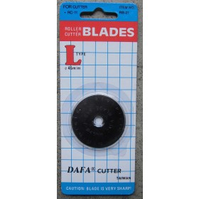 Rotary Cutter 45mm Replacement Blade to fit DAFA, OLFA, FISKARS