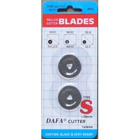 Rotary Cutter Blade 28mm Replacement Blade to fit DAFA, OLFA, FISKARS